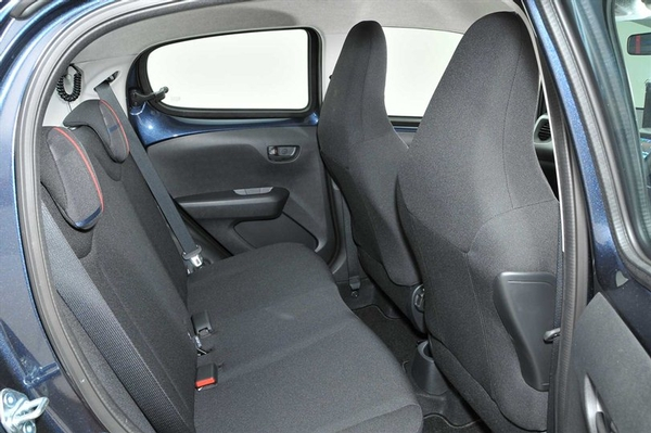Peugeot 108 interior local car and van rental