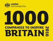 LCVR one of 1000 Companies to Inspire Britain